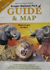 Souvenirs: Kruger National Park Guide & Map Book